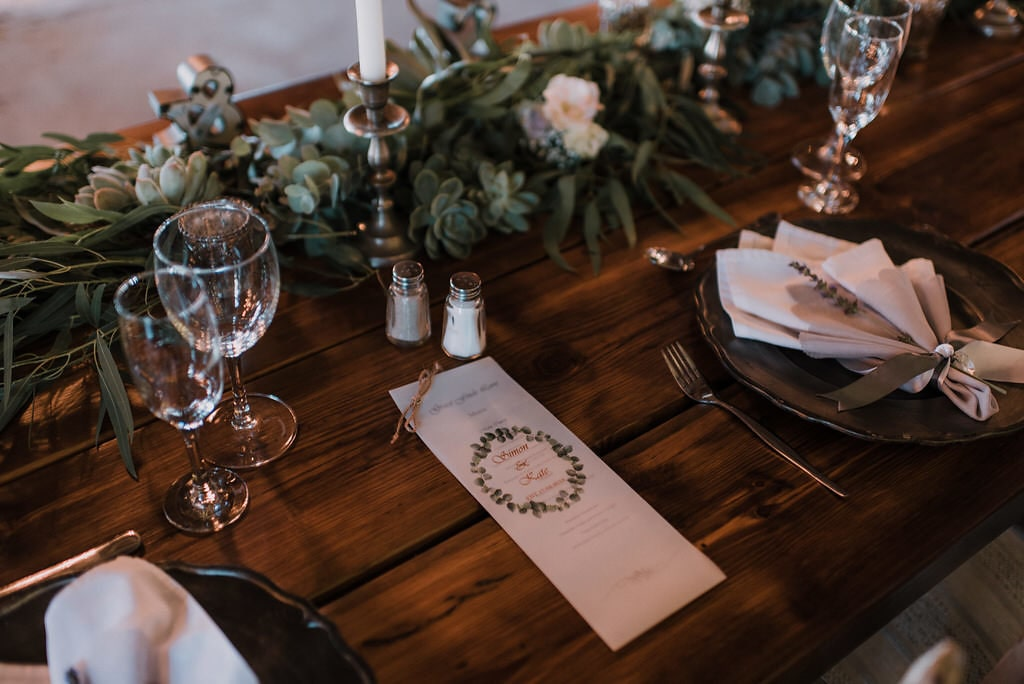 Wedding Venue Decorated Table – Kralinbergh Estate